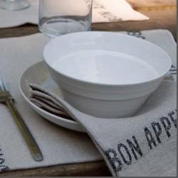 Serviette lin Bon Appétit