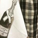 Torchon Champagne L comme Lin