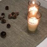 Chemin lin coton lurex Pépite L comme lin